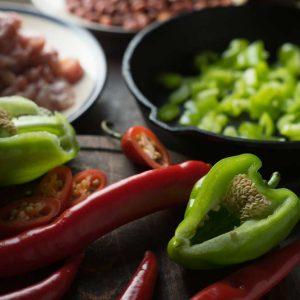 Fajita Avocado Chicken Salad