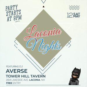DJ Night Flyer - Saturday, May 12 at 9pm