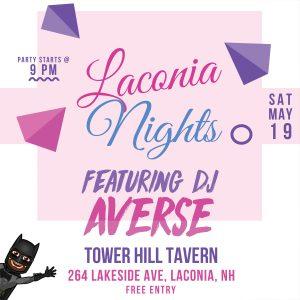 DJ Night Flyer for Saturday, May 19