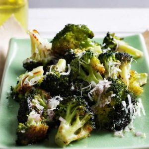 Broccoli with Lemon Garlic Butter