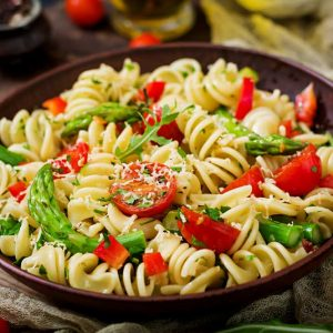 Citrus Pasta and Greens