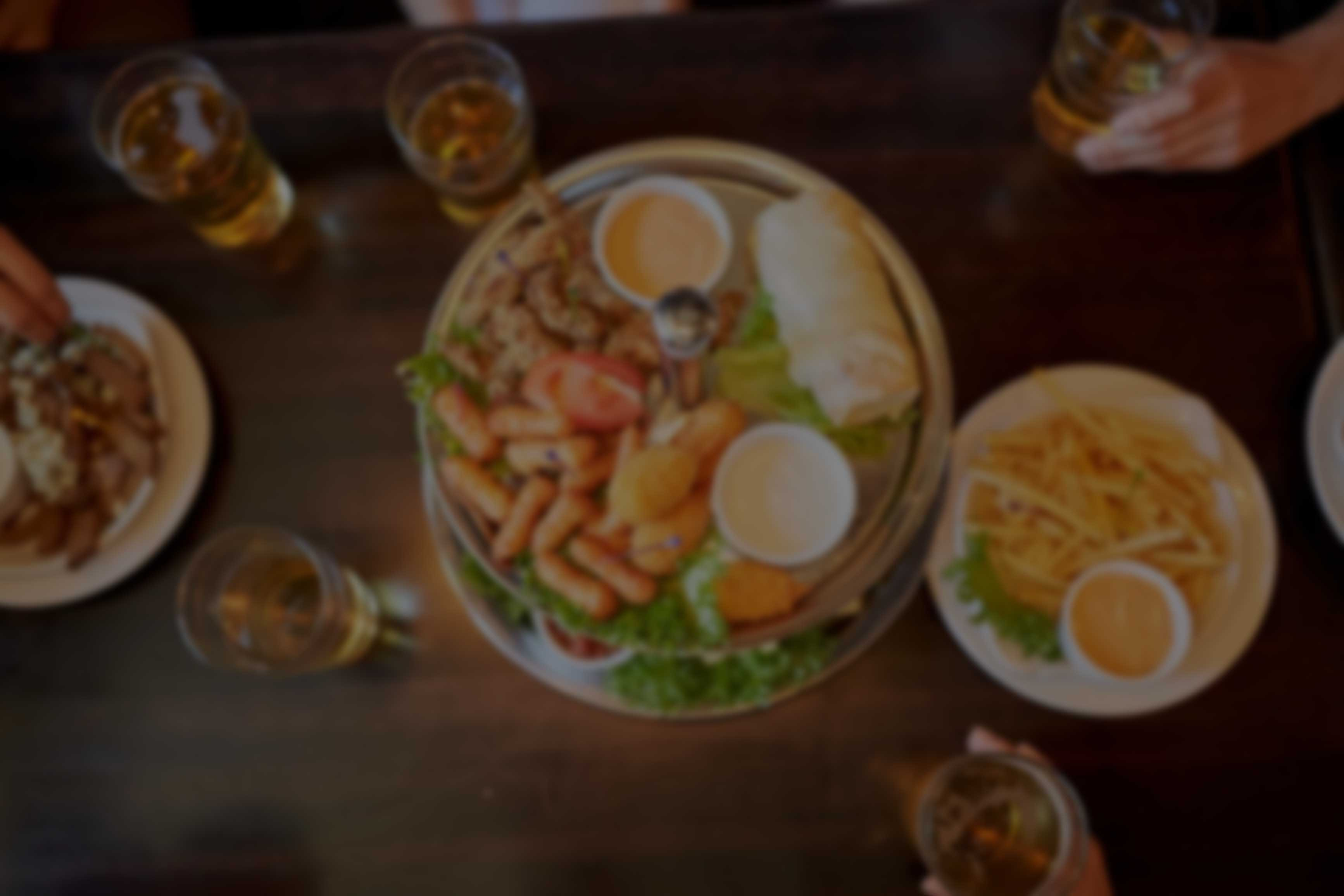 Food and Beer at Tower Hill Tavern