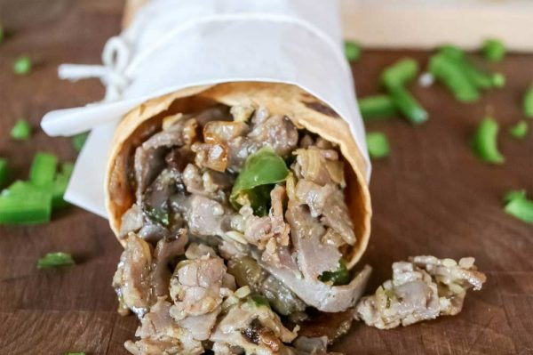 Steak and Cheese Wrap
